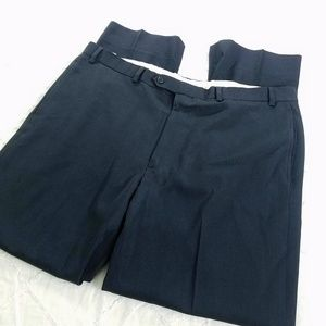 Brooks Brothers Mens 40x32 Madison Navy Blue Pants